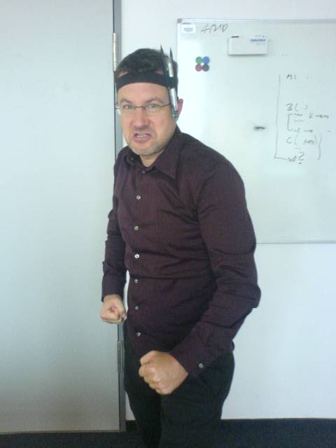 Office Rambo with Kit